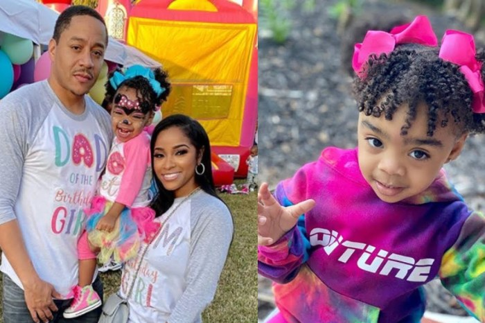 Toya Johnson's Daughter, Reign Rushing Is A Baby Influencer - See Her Gorgeous Pics!