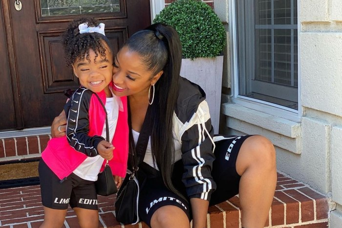 Toya Johnson Posts Cute Photos With Daughter Reign Rushing -- Fans Defend Duo After Critics Slammed Child's Looks