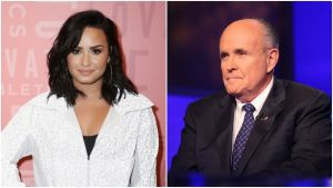 Demi Lovato Mocks Rudy Giuliani's Excuse For Compromising Borat 2 Scene With 'Teen' Actress