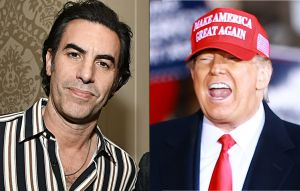 Donald Trump Slams 'Creep' Sacha Baron Cohen After Compromising Rudy Giuliani Prank Goes Viral