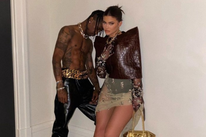 Kylie Jenner Poses With Baby Daddy Travis Scott For New Givenchy Shoot