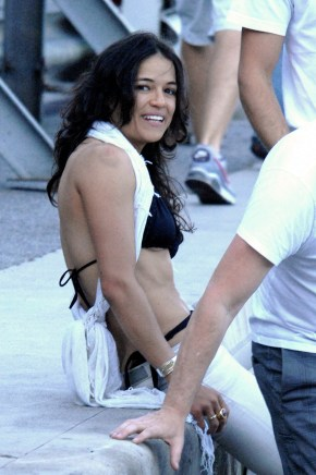 Michelle Rodriguez Sighting - Monte Carlo