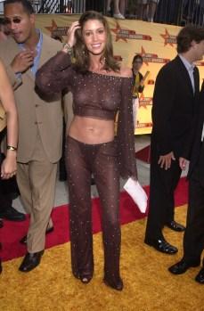 at the 2001 MTV Movie Awards, Shrine Auditorium, Los Angeles, 06-02-01