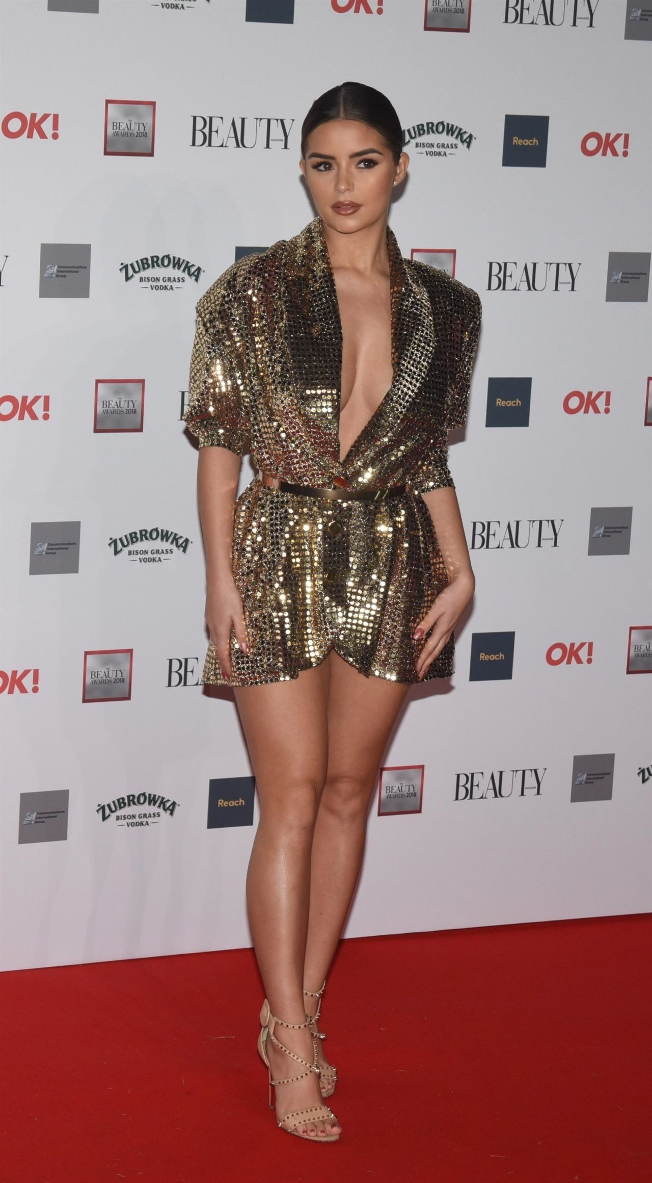 Demi Rose – The Beauty Awards 2018 in London