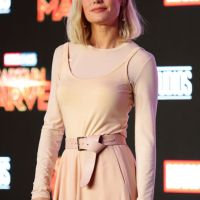 "Brie Larson – ""Captain Marvel"" Press Conference in Singapore 02/14/2019"