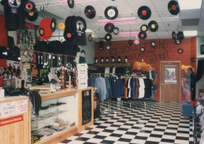 Chaos Records (Courtesy of Christian Picciolini)