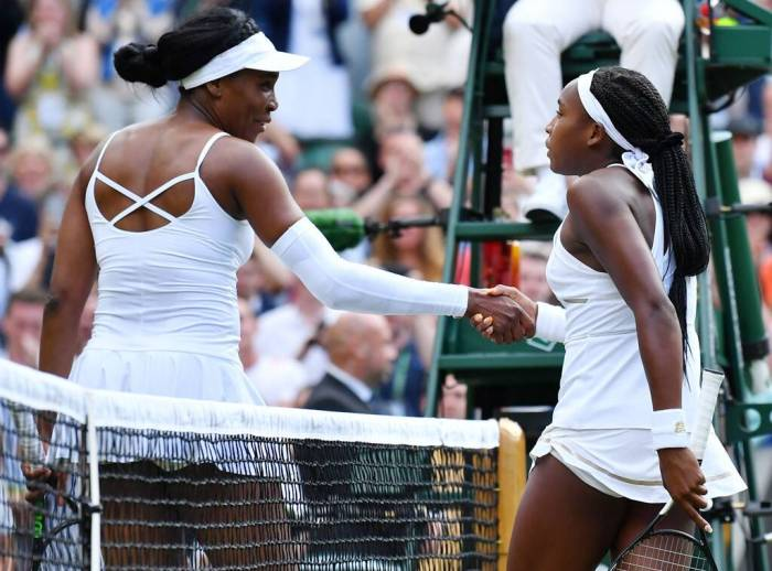 Venus Williams, Cori Coco Gauff