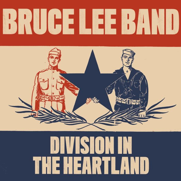 Division in the Heartland EP - Cover bruce lee land jeff rosenstock