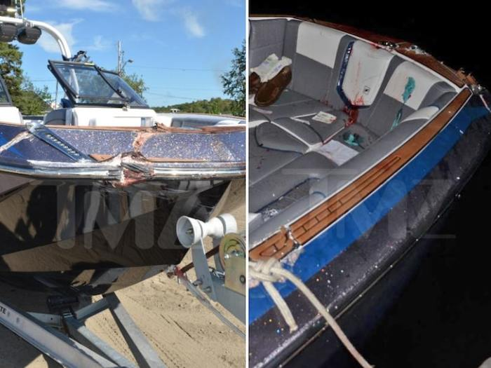 The Nautique's Boat Damage