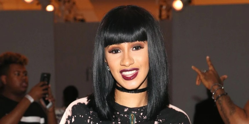 cardi b teeth after