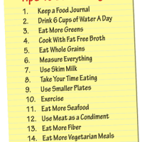 15 Tips to Lose Weight