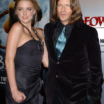 Amber Heard and her ex boyfriend Crispin Glover