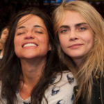 Michelle Rodriguez and her ex girlfriend Cara Delevingne