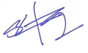Sung Kang Signature