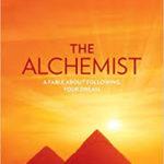 The Alchemist by Paulo Coelho book image.