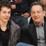 Tom Hanksa and Truman Theodore Hanks image.