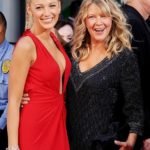 Blake Lively with her mom