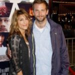 Bradley Cooper with his ex wife Jennifer Espocito