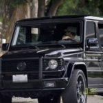 Bradley Cooper's Mercedes G wagon
