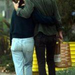 Emilia Clarke and Charlie Mcdowell kissing