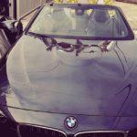 Emilia Clarke's BMW