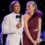 Gwyneth Paltrow with her husband Brad Falchuk