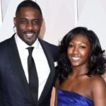 Idris Elba with his daughter Isan Elba