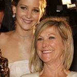 Jennifer Lawrence and her mother Karen Lawrence