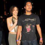 Nathalie Emmanuel with her Ex boyfriend Devon Anderson