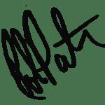 Robert Pattinson signature