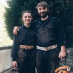 maisie williams with her brother Ted Willams