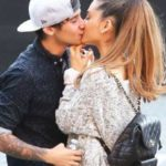 Ariana grande and jai brooks kissing