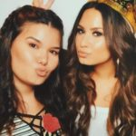 Demi Lovato and her sister Madison De La Garza