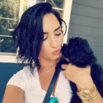 Demi Lovato pet Batman