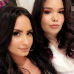 Demi Lovato with sister Madison De La Garza