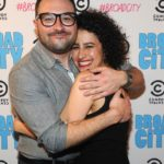 Ilana Glazer with her brother Eliot Glazer image