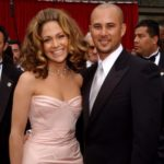 Jennifer Lopez with his ex-husband Cris Judd