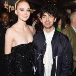 Joe Jonas with his wife Sophie Tunner