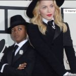 Madonna with her son David Banda Mwale Ciccone Ritchie