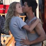 Taylor Swift and Taylor Lautner kissing moments