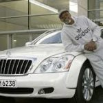 samuel l. jackson and Maybach 57 S image