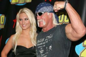 Brooke Hogan With her Father Hulk Hogan