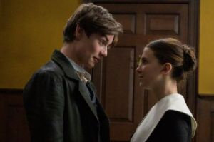 Louis Partridge and Millie In Enola Holmes