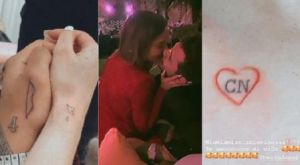 Belinda and Christian Nodal Have Related Tattoos