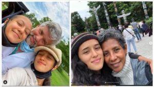 Yadira Guevara father, mother and sister