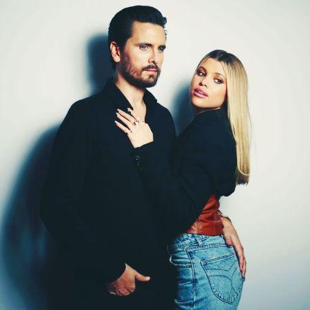 Sofia Richie with her ex-boyfriend, Scott Disick