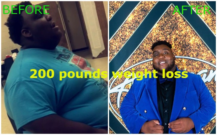 American Idol Star Willie Spence 200 pounds Weight Loss
