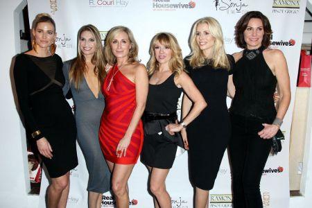 'RHONY' star Sonja Morgan with the co-stars