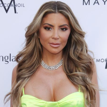 Larsa Pippen after going through cosmetic enhancements