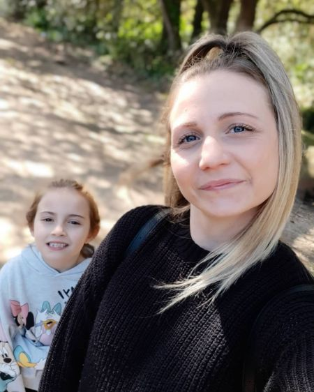 Natalie Hanby and Daughter